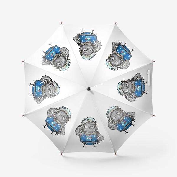 Зонт «Совушка Фильх - космонавт»