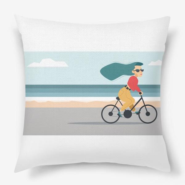 Подушка «на велике вдоль пляжа»