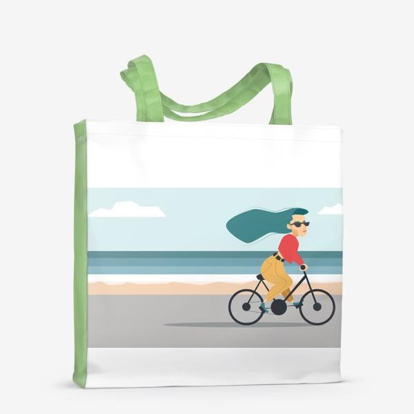 Сумка-шоппер «на велике вдоль пляжа»