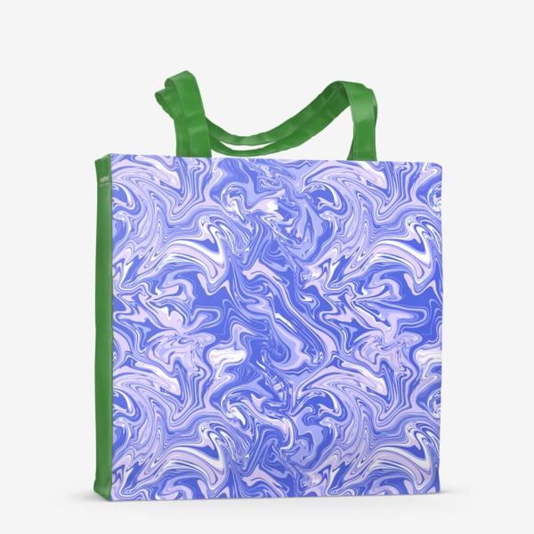 Сумка-шоппер «Мраморный узор/Узор эпоксидной смолы»