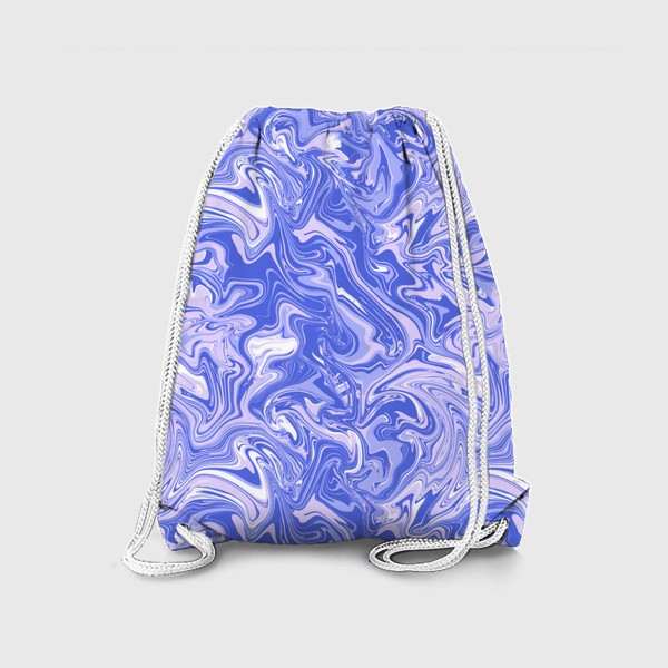 Рюкзак «Мраморный узор/Узор эпоксидной смолы»