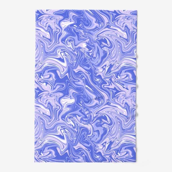 Полотенце «Мраморный узор/Узор эпоксидной смолы»