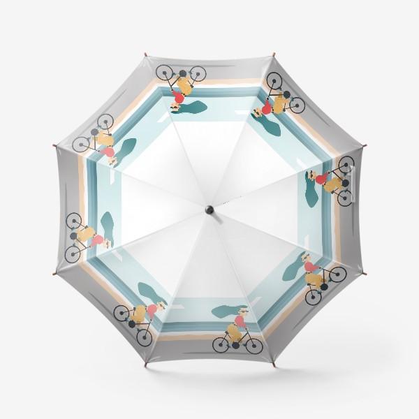 Зонт «на велике вдоль пляжа»