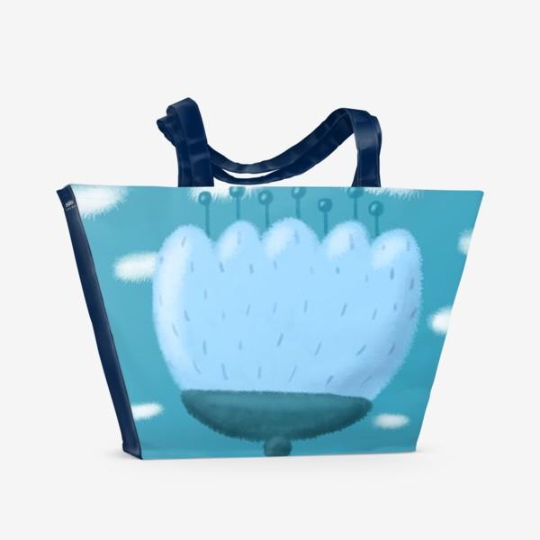 Пляжная сумка «Цветок »