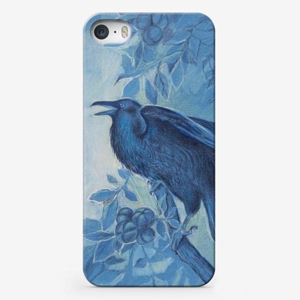 Чехол iPhone «Ворон»
