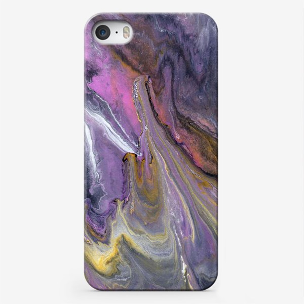 Чехол iPhone « розовый камень»