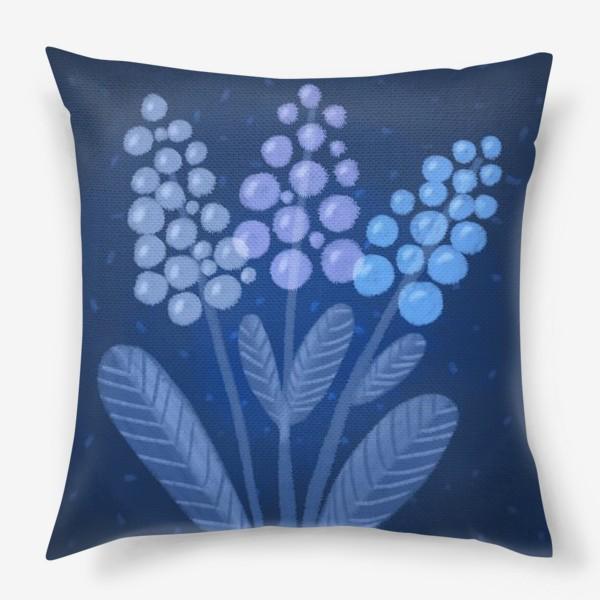 Подушка «Лунные цветы»