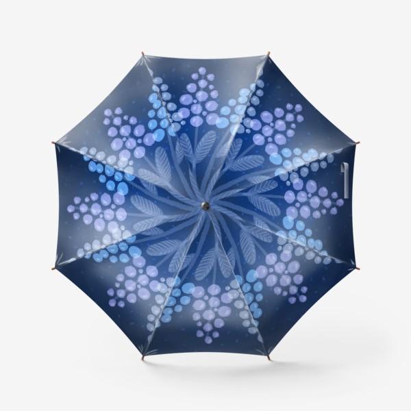 Зонт «Лунные цветы»
