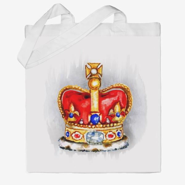 Сумка хб «Корона»