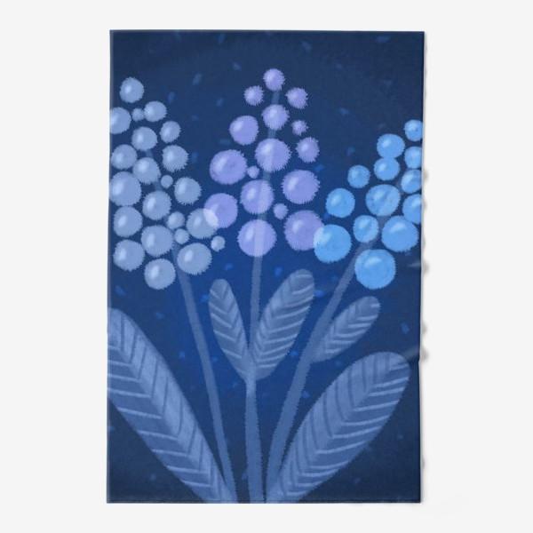 Полотенце «Лунные цветы»
