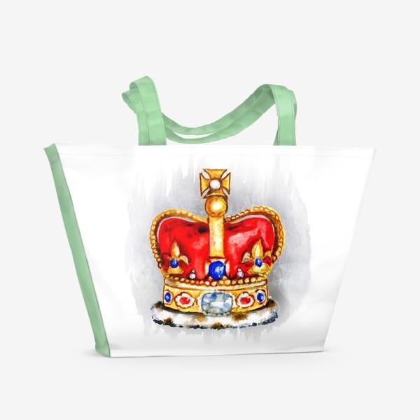 Пляжная сумка «Корона»