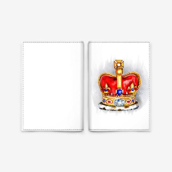 Обложка для паспорта «Корона»