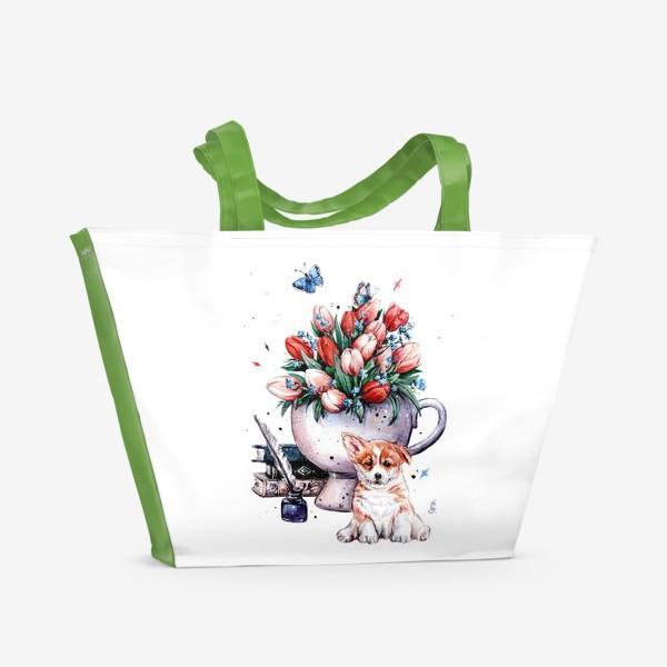 Пляжная сумка «забытые чувства»