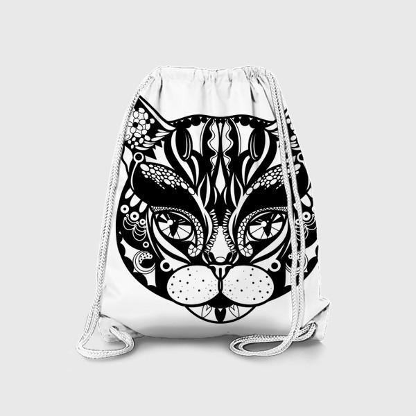 Рюкзак «Морда кота. Кот. Люблю котов»