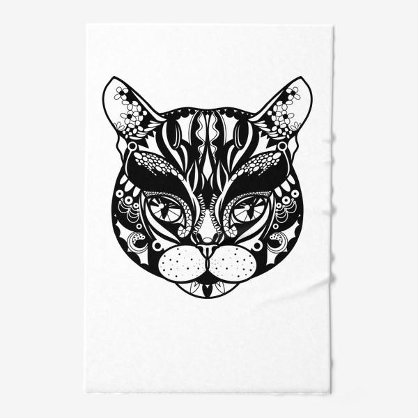 Полотенце «Морда кота. Кот. Люблю котов»