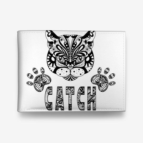 Кошелек «Кот. Люблю кошек. Коты. Морда кота»