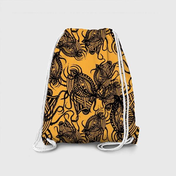 Рюкзак «Зентагл абстракция»