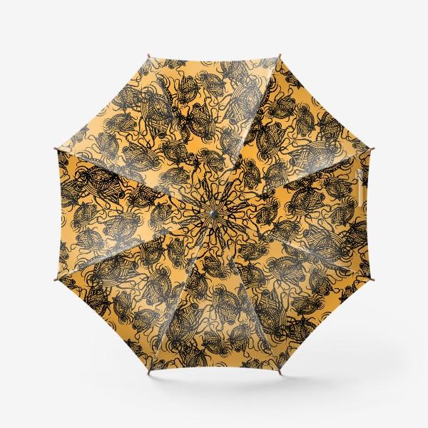Зонт «Зентагл абстракция»