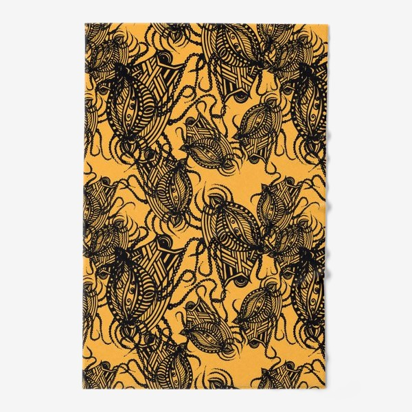 Полотенце «Зентагл абстракция»