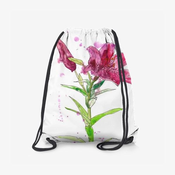 Рюкзак «Розовая лилия»