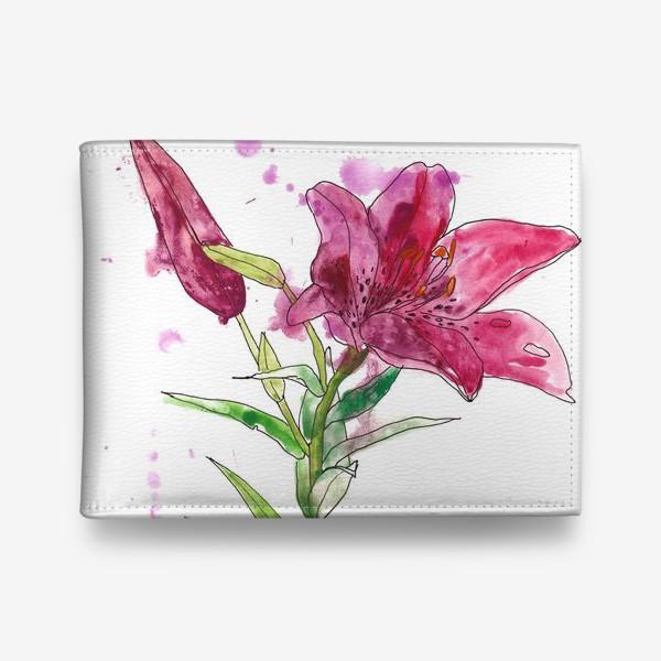 Кошелек «Розовая лилия»
