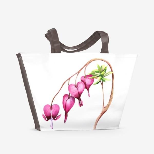 Пляжная сумка «Сердце »