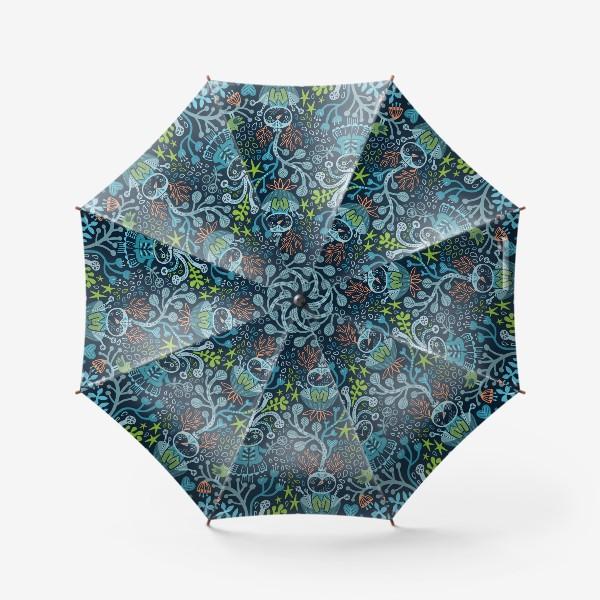 Зонт «Лесные чудики»