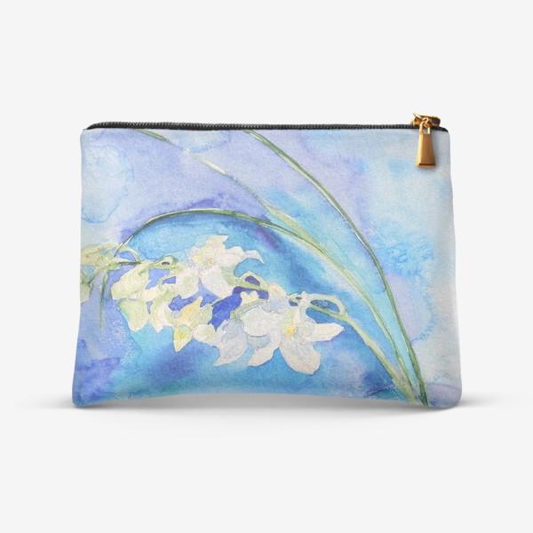 Косметичка «Белая орхидея»