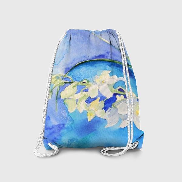 Рюкзак «Белая орхидея»