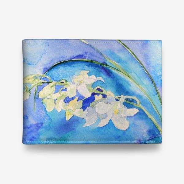 Кошелек «Белая орхидея»