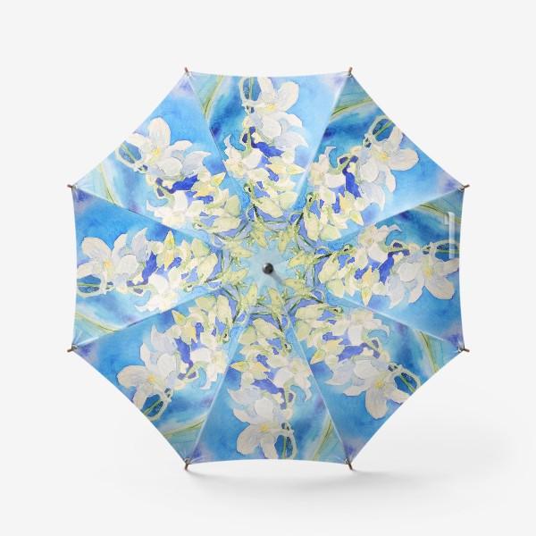 Зонт «Белая орхидея»