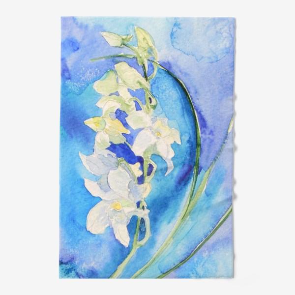 Полотенце «Белая орхидея»