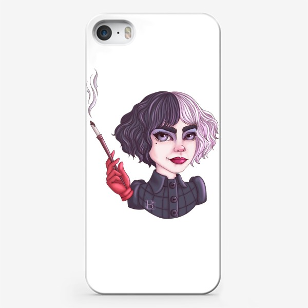 Чехол iPhone «Круэлла»