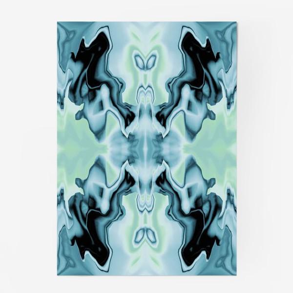 "Постер «Абстракт ""Голубая бабочка""»"