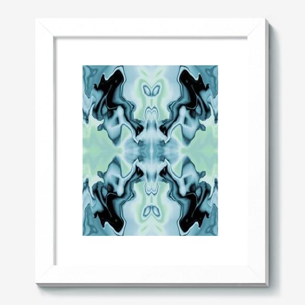 "Картина «Абстракт ""Голубая бабочка""»"