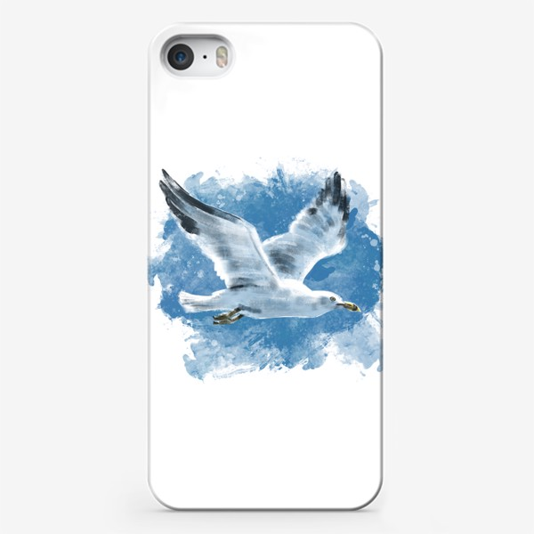 Чехол iPhone «Чайка в полете»