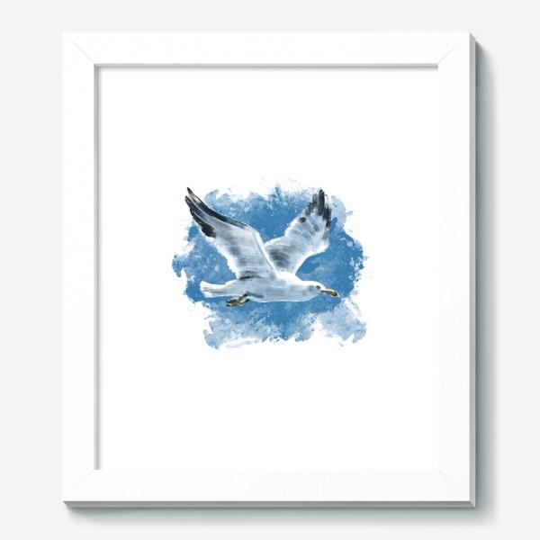 Картина «Чайка в полете»
