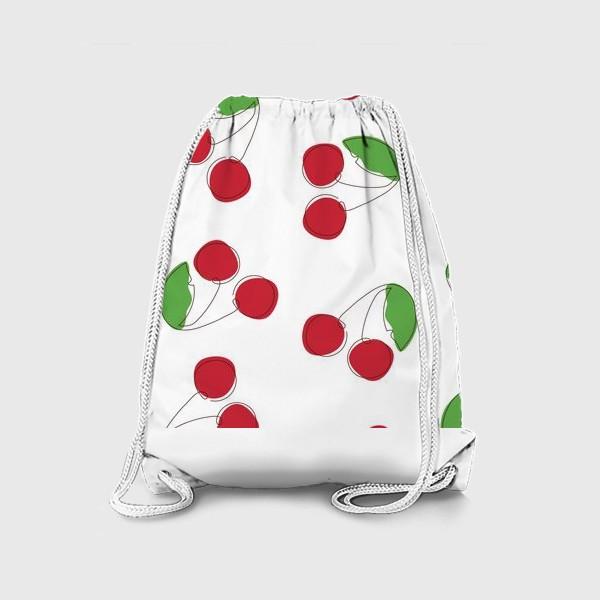 Рюкзак «Вишня/черешня»
