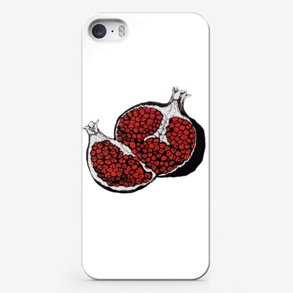 Чехол iPhone «Грозный гранат»