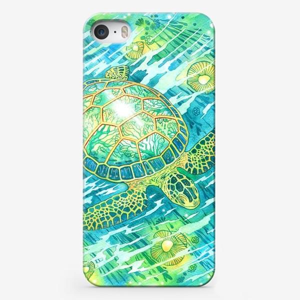 Чехол iPhone «Черепашка»
