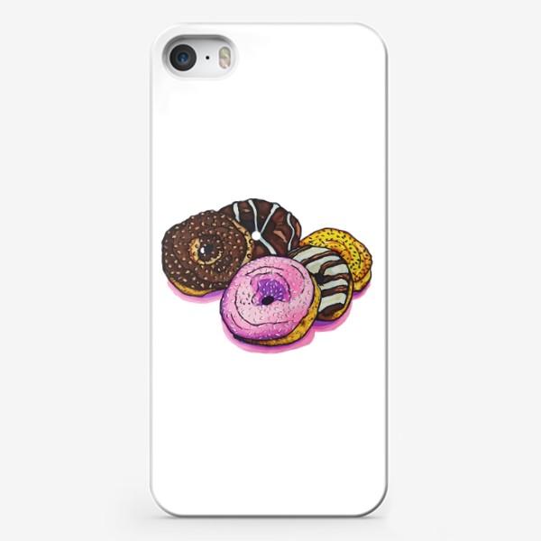 Чехол iPhone «Сладкие покупки»