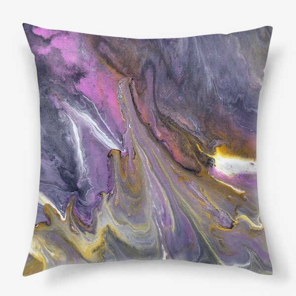 Подушка « розовый камень»