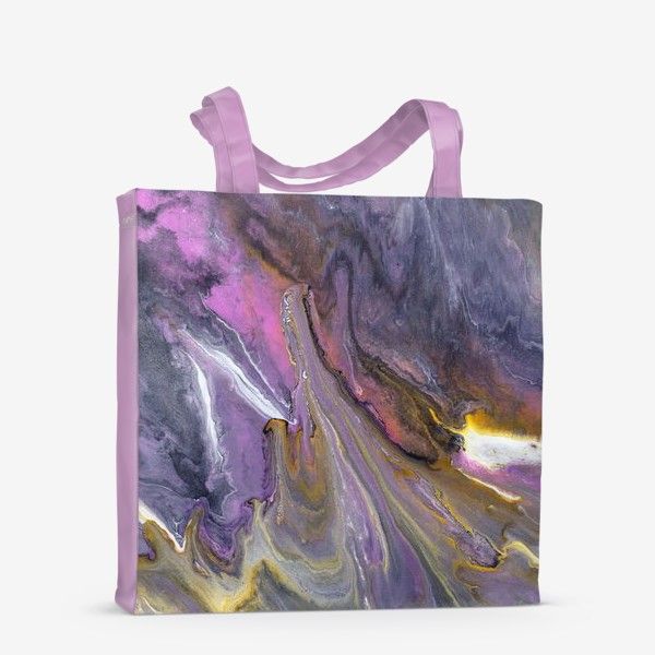 Сумка-шоппер « розовый камень»