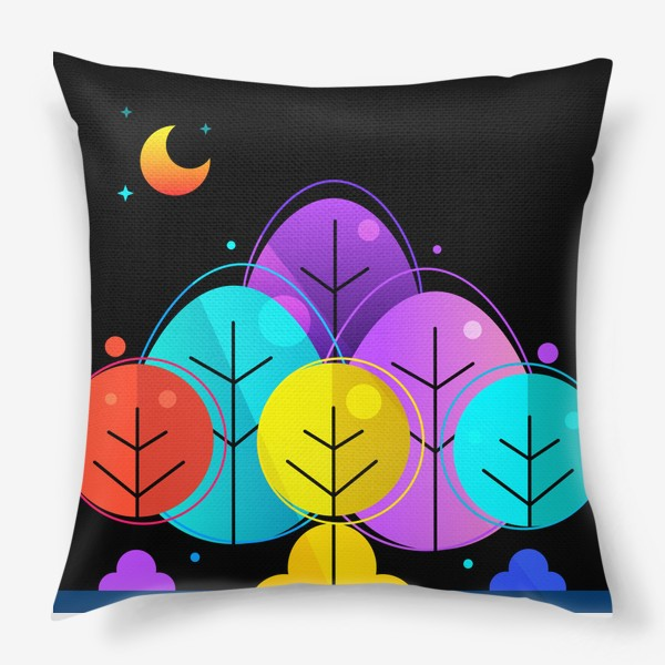 Подушка «Лес»