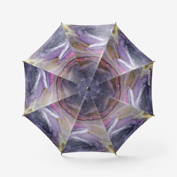 Зонт « розовый камень»