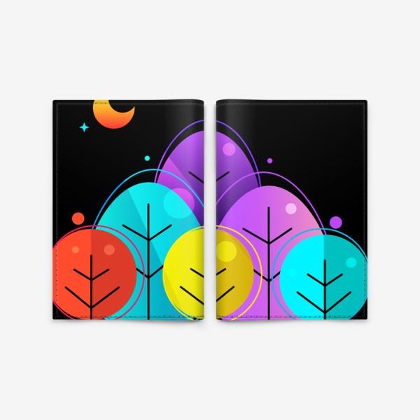 Обложка для паспорта «Лес»