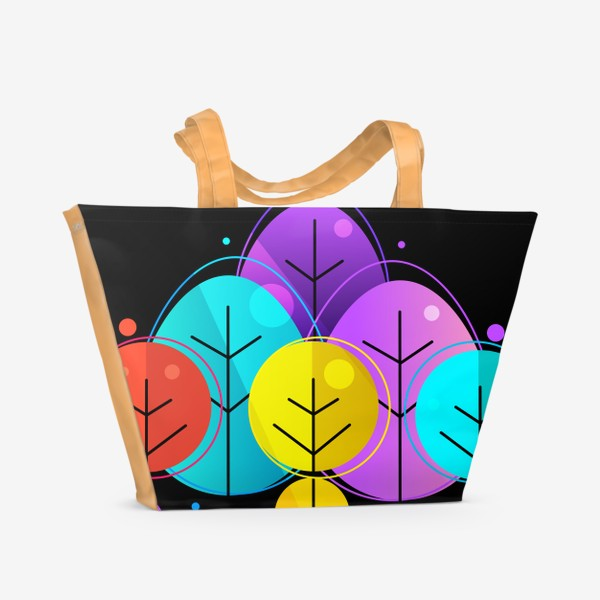 Пляжная сумка «Лес»