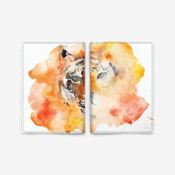 Обложка для паспорта «Tiger»