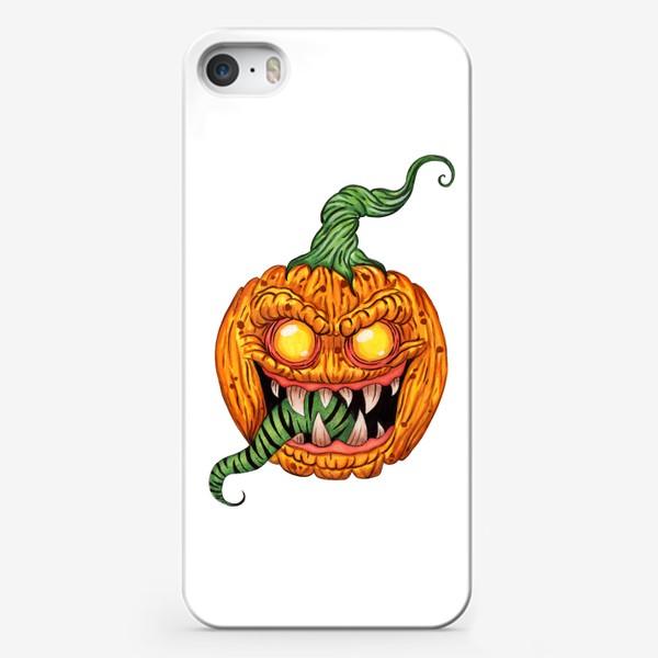 Чехол iPhone «Злая тыква»