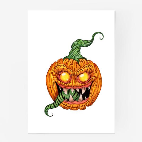 Постер «Злая тыква»